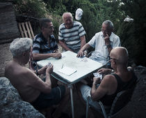 Card players by Alberto Vaccari