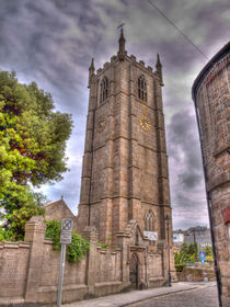 Ives Parish Church Cornwall by Allan Briggs
