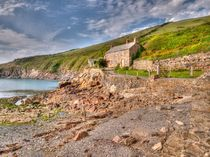 Port Quin by Allan Briggs
