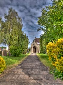 All Saints' Church Rufforth by Allan Briggs