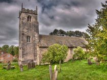 All Saints' Church Long Marston by Allan Briggs