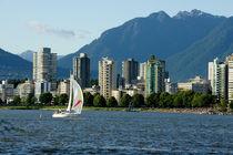 Vancouver Sailboat von John Mitchell