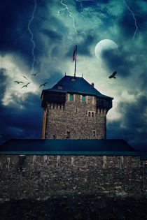 Midnight - Schloss Burg von AD DESIGN Photo + PhotoArt