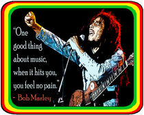 BOB MARLEY: MUSIC, NO PAIN von solsketches