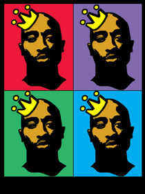 HIP-HOP ICONS: TUPAC SHAKUR (4-COLOR) by solsketches