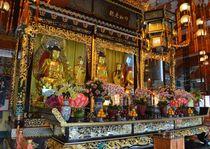 Buddha shrine by James Davis