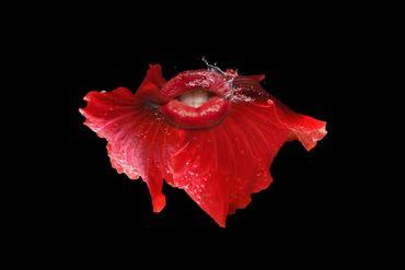 Redflowerkisspan