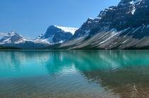 Bow Lake. von Christine Fitzgerald