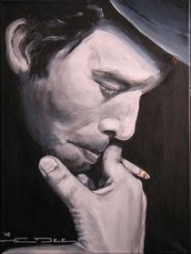 Tom Waits 1976 by Eric Dee