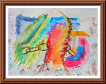 Breaking The Chains Abstract by Warren Thompson