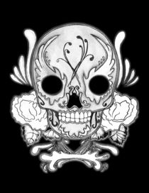 Bw-skull-on-black