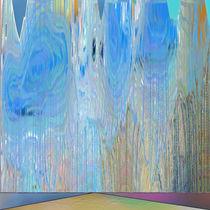 Die blaue Allee by Helmut Licht