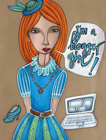 bloggergirl von finkpink