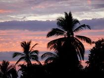 Sonnenuntergang, pastellfarben by pictaria