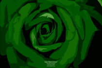 July Rose Green von Jeff Pierson