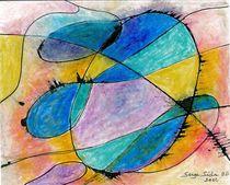 big bang : cocon de gaz  no 2 (cocoon of gaz no 2 von Serge Sida
