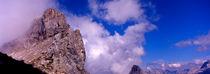 westliche karwendelspitze (2384 m); deutschland, bayern, mittenwald von helmut-krauss-panorama