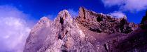 westliche karwendelspitze (2.384 m); deutschland, bayern, mittenwald von helmut-krauss-panorama