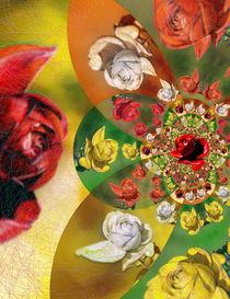 Harleqin-Roses-Dance -2- by Christine  Hofmann