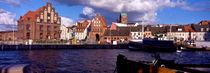 alter hafen der hansestadt wismar (ausschnitt); wismar, mecklenburg-vorpommern von helmut-krauss-panorama