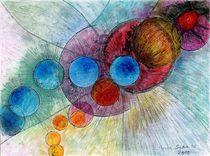 big bang :création continue  no 4  ( endless creation  no 4 ) von Serge Sida