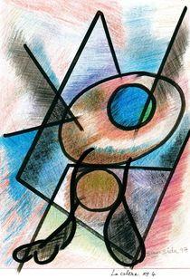 la colère  no 4   ( anger  no 4 ) by Serge Sida