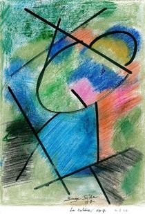 la colère  no 7   ( anger  no 7 ) by Serge Sida