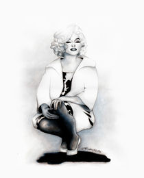Marilyn Monroe Something's Got to Give by alexandra-veda