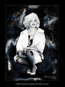 Marilyn in The Dark by alexandra-veda