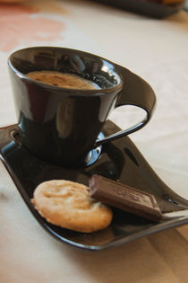 coffee,  chocolat and cookies by ekaterina0023