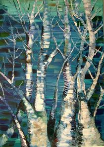 Bäume brauchen Wasser(Trees need water) by Myungja Anna Koh