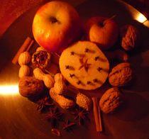 Apfel, zimt und Mandelkern by Silke Bicker