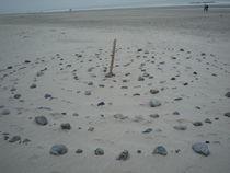 Spirale am Strand von Silke Bicker