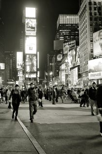 Times Square by Frank Walker