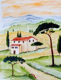 Toskana-Stille und Harmonie  von Christine Huwer