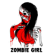 ZOMBIE GIRL by creatively