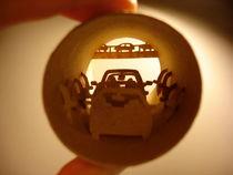 Roll Traffic jam (Embouteillage) von Anastassia Elias