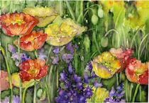 Poppies von Tania Vasylenko