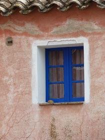 blaues Fenster von Corinna Schumann