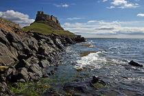 Lindisfarne Castle by David Pringle