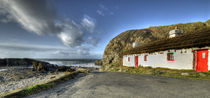 Manx Cottages Niarbyl by Julie  Callister