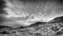 Niarbyl Beach Isle of Man by Julie  Callister
