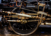 Railroad Wheel by Gert Lavsen
