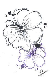 Flowers von Heidi A Andersen