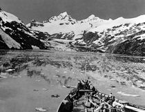 Vintage USA Alaska glacier bay national monument 1970s von blackwhitephotos