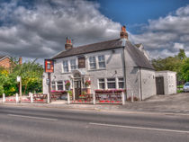 The Tankard Inn Rufforth by Allan Briggs