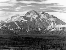 Vintage USA Alaska Beautiful Mt Mckinley 1970 von blackwhitephotos