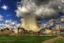 Demolition of Bridgeman House Hull 2012 by martinhenry