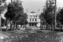 BW Principality of Monaco Monte Carlo Casino 1970s by blackwhitephotos