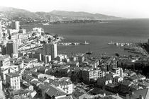 BW Principality of Monaco the port of Monte Carlo 1970s by blackwhitephotos